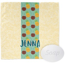 Pineapples and Coconuts Wash Cloth (Personalized)