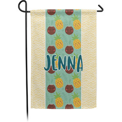 Pineapples and Coconuts Garden Flag - Single or Double Sided (Personalized)