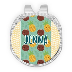 Pineapples and Coconuts Golf Ball Marker - Hat Clip