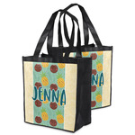 Pineapples and Coconuts Grocery Bag (Personalized)
