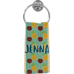 Pineapples and Coconuts Hand Towel - Full Print (Personalized)