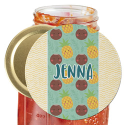 Pineapples and Coconuts Jar Opener (Personalized)