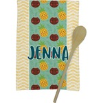 Pineapples and Coconuts Kitchen Towel - Full Print (Personalized)
