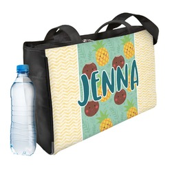 Pineapples and Coconuts Ladies Workout Bag (Personalized)