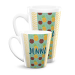 Pineapples and Coconuts Latte Mug (Personalized)
