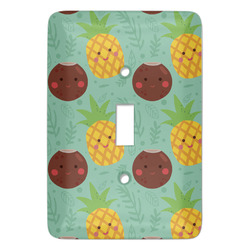 Pineapples and Coconuts Light Switch Covers (Personalized)