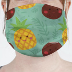 Pineapples and Coconuts Face Mask Cover (Personalized)