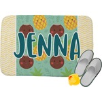 Pineapples and Coconuts Memory Foam Bath Mat (Personalized)