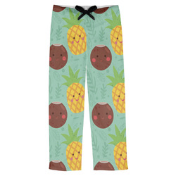 Pineapples and Coconuts Mens Pajama Pants (Personalized)