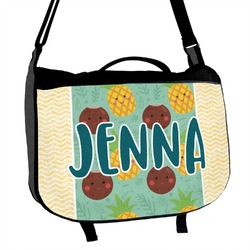 Pineapples and Coconuts Messenger Bag (Personalized)