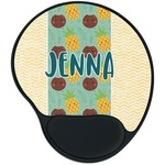 Pineapples and Coconuts Mouse Pad with Wrist Support