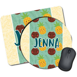Pineapples and Coconuts Mouse Pads (Personalized)