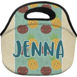 Pineapples and Coconuts Lunch Bag (Personalized)