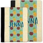 Pineapples and Coconuts Notebook Padfolio w/ Name or Text