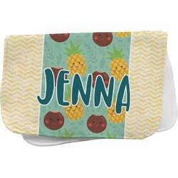 Pineapples and Coconuts Burp Cloth (Personalized)