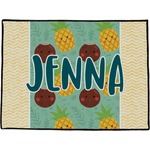 Pineapples and Coconuts Door Mat (Personalized)
