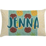Pineapples and Coconuts Pillow Case (Personalized)