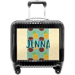 Pineapples and Coconuts Pilot / Flight Suitcase (Personalized)