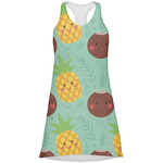 Pineapples and Coconuts Racerback Dress (Personalized)