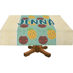 Pineapples and Coconuts Tablecloth (Personalized)