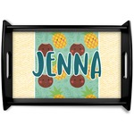 Pineapples and Coconuts Wooden Trays (Personalized)