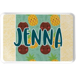 Pineapples and Coconuts Serving Tray (Personalized)