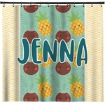 Pineapples and Coconuts Shower Curtain (Personalized)