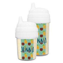 Pineapples and Coconuts Sippy Cup (Personalized)