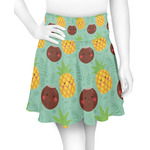 Pineapples and Coconuts Skater Skirt (Personalized)