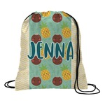 Pineapples and Coconuts Drawstring Backpack (Personalized)