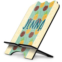 Pineapples and Coconuts Stylized Tablet Stand (Personalized)