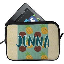 Pineapples and Coconuts Tablet Case / Sleeve (Personalized)
