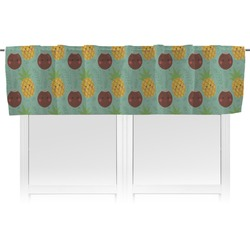 Pineapples and Coconuts Valance (Personalized)