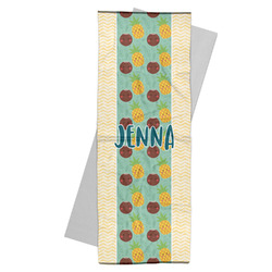 Pineapples and Coconuts Yoga Mat Towel (Personalized)