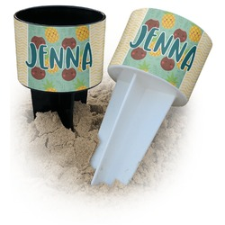 Pineapples and Coconuts Beach Spiker Drink Holder (Personalized)