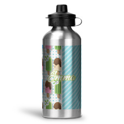 Popsicles and Polka Dots Water Bottle - Aluminum - 20 oz (Personalized)