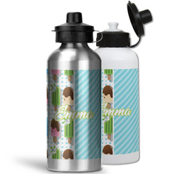 Popsicles and Polka Dots Water Bottles- Aluminum (Personalized)
