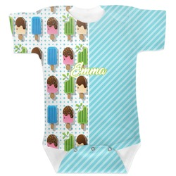 Popsicles and Polka Dots Baby Bodysuit (Personalized)