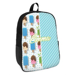 Popsicles and Polka Dots Kids Backpack (Personalized)
