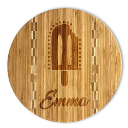 Popsicles and Polka Dots Bamboo Cutting Board (Personalized)