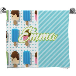 Popsicles and Polka Dots Bath Towel (Personalized)