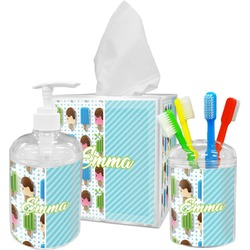 Popsicles and Polka Dots Bathroom Accessories Set (Personalized)