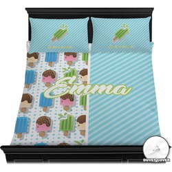 Popsicles and Polka Dots Duvet Covers (Personalized)