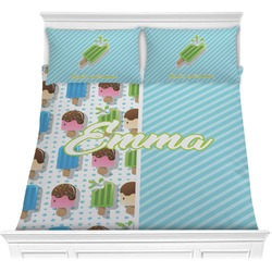 Popsicles and Polka Dots Comforters (Personalized)