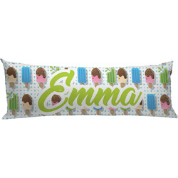 Popsicles and Polka Dots Body Pillow Case (Personalized)