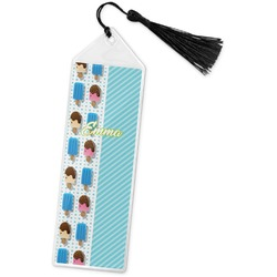 Popsicles and Polka Dots Book Mark w/Tassel (Personalized)