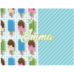 Popsicles and Polka Dots Placemat (Fabric) (Personalized)