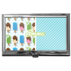 Popsicles and Polka Dots Business Card Case