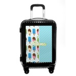 Popsicles and Polka Dots Carry On Hard Shell Suitcase (Personalized)