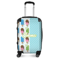 Popsicles and Polka Dots Suitcase (Personalized)